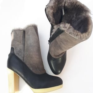 Australia Luxe Collective   Shearling Bootie